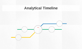 Analytical Timeline
