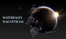 Copy of MATERIALES FERROMAGNETICOS