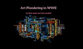 Art Plundering in WWII
