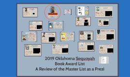 2019 Oklahoma Sequoyah Book Award List