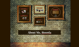 About Ms. Roorda