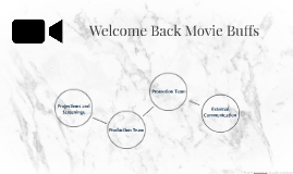 Welcome back movie buffs