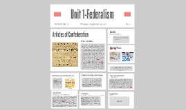 Unit 1-Federalism
