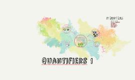 quantifiers 1