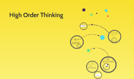 High Order Thinking