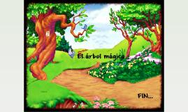 En un hermoso bosque existía un árbol que tenía colgado un l