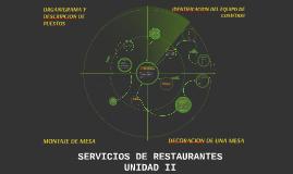 SERVICIOS DE RESTAURANTES UNIDAD III