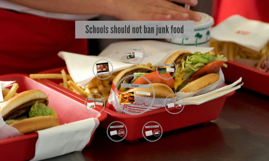 junk food should not be banned in schools