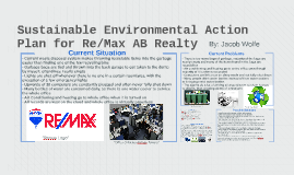 Sustainable Environmental Action Plan for Re/Max AB Realty