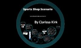 Sports Shop Scenario