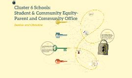 Copy of Cluster 6 schools