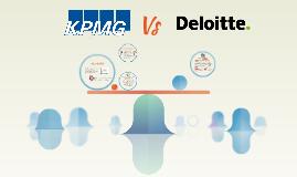 KPMG VS DELOITTE