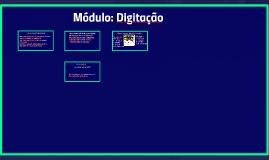 Módulos: Digitação