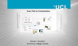 Secure Internet communications