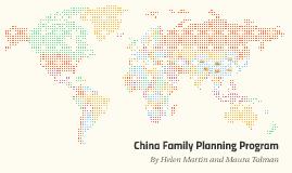 China Family Planning Programs