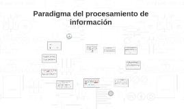 Paradigma del procesamiento de información