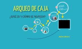 Copy of ARQUEO DE CAJA