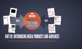 UNIT 01: Task 5: Demonstrate an understanding of your chosen media product