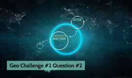 Geo Challenge #2 Question #2