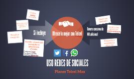 USO REDES DE SOCIALES