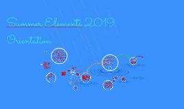 Summer Elements 2018