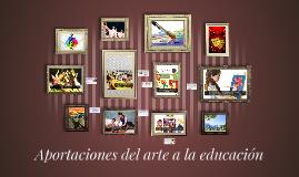 Copy of Aportaciones del arte a la educación