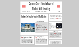 Endrew v. Douglas County Public Schools