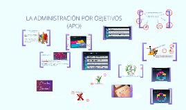 Copy of LA ADMINISTRACIÓN POR OBJETIVOS (APO)