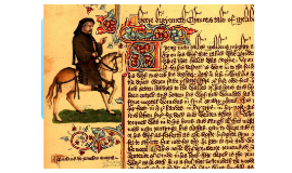 Copy of Chaucer and the Canterbury Tales