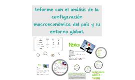 Informe con el análisis de la configuración macroeconómica d
