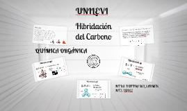 Nutrición Química Orgánica: Hibridación del Carbono