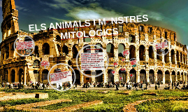 ELS ANIMALS I MONSTRES MITOLÒGICS