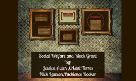 Social Welfare and Block Grants