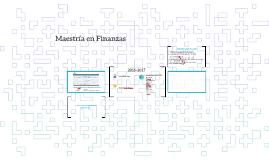 Maestría en Finanzas