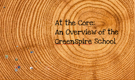 Core Curriculum at the Greenspire School