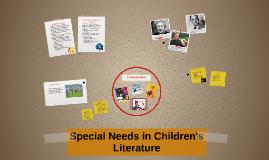 Special Needs in Children's Literature