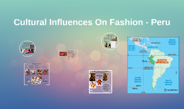 Cultural Influences On Fashion