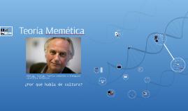 Teoría Memética