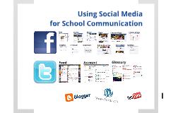 Using Social Media for School Communication