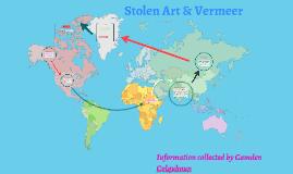 Stolen Art & Vermeer