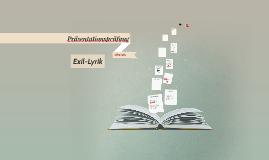 Präsentationsleistung zu Thema Exil-Lyrik
