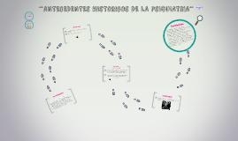 °°ANTECEDENTES HISTORICOS DE LA PSIQUIATRIA°°