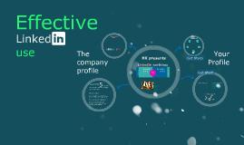 Effective LinkedIn Use