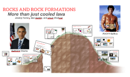 Copy of Rocks and Rock Formations!