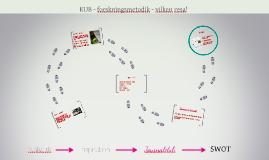 KUB - forskningsmetodik - vilken resa!