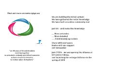 Pro-version: CYSPA Prezi for ICT 2013