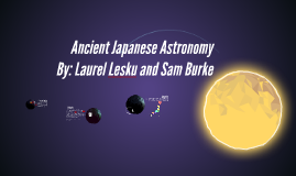 Ancient Japanese Astronomy