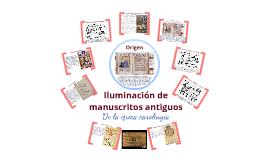 Iluminacion en los manuscritos