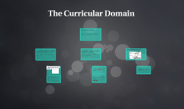 The Curricular Domain