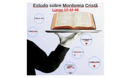 Copy of VIDA CRISTÃ - Estudo sobre Mordomia Cristã
